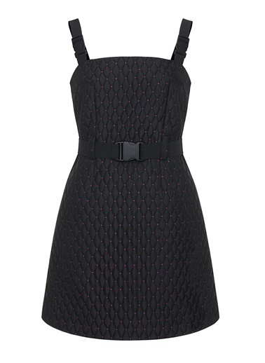 Nocturne Jakarlı Salopet Elbise Siyah